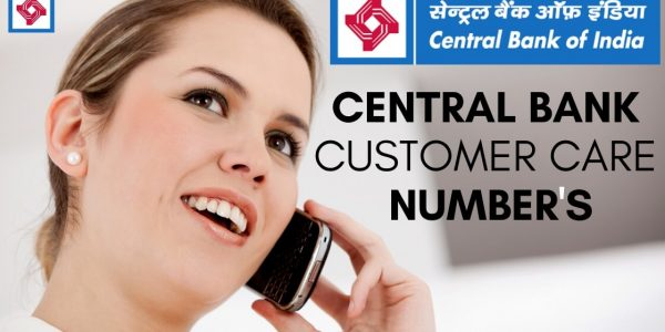 Central Bank Customer Care Number 24×7 Helpline 2020