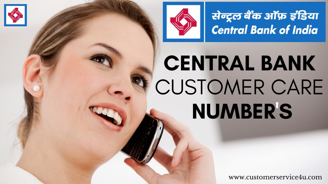 Central Bank Customer Care Number