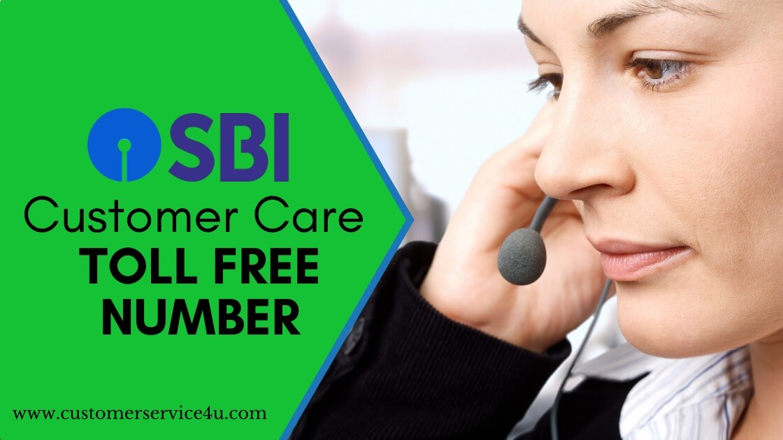 SBI Customer Care number Toll Free