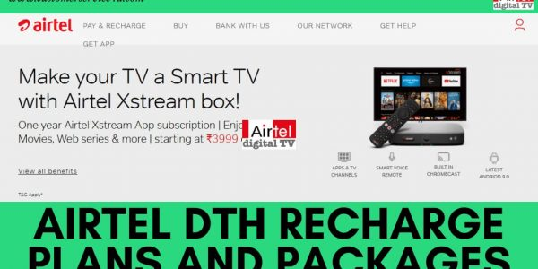 Best Airtel Dth Recharge Plans, Packages, Offers 2021