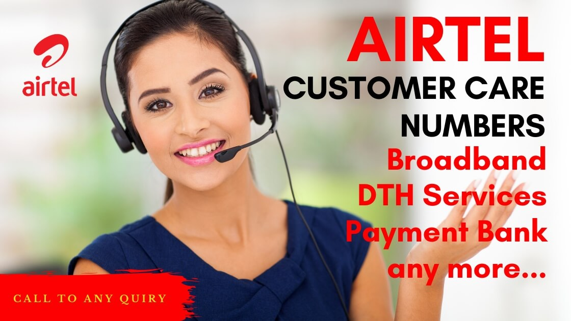 airtel customer care number