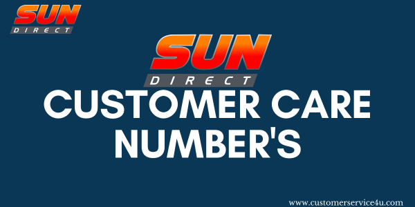 Sun Direct Customer Care 24×7 DTH Toll Free Number 2020