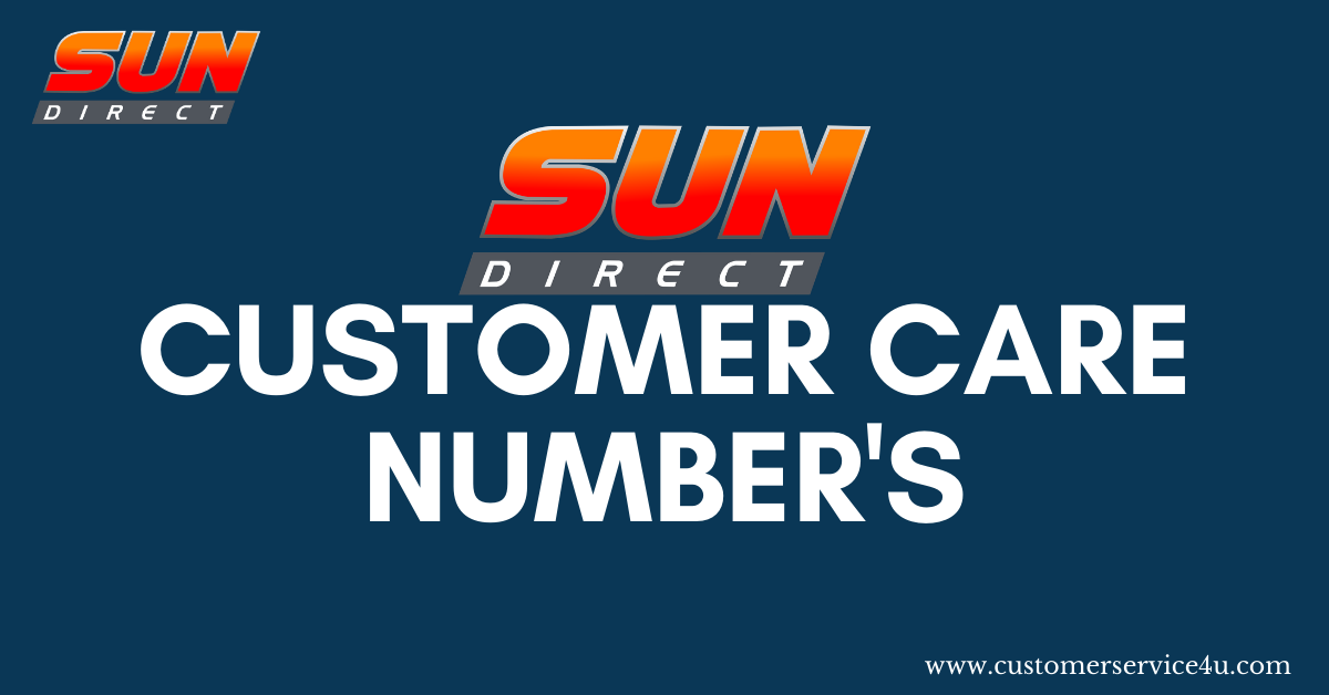 Sun Direct Customer Care Number