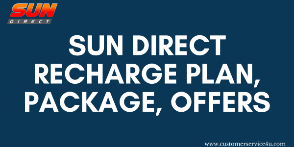 Best Sun Direct Recharge Plan, Packages, Offers 2020