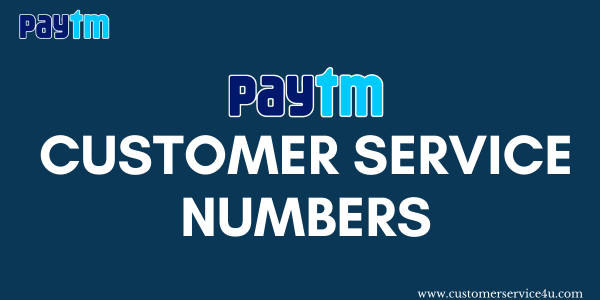 Find Paytm Customer Service Number 2020