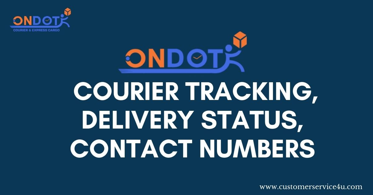 On Dot Courier Tracking