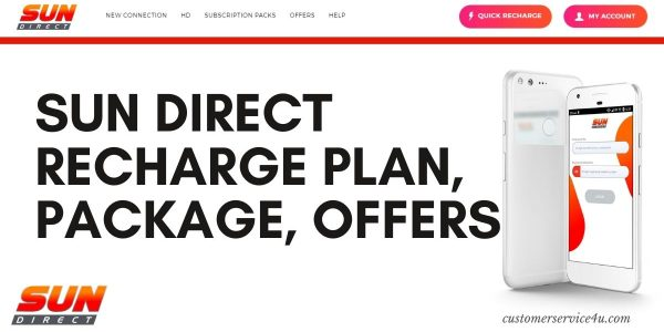Best Sun Direct Recharge Plans, Packages, Offers 2021